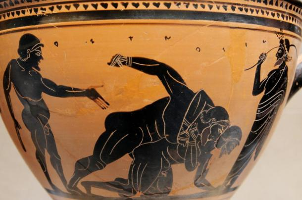 a comparison of pankration and pammachon the ancient greek exercises